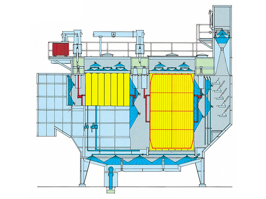 Horizontal Wet Electrostatic Precipitator